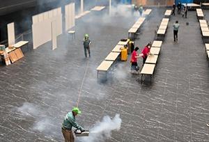 日本初!オーガニック認証で安心・安全な除菌剤を使用。日本国内製造で毎月1,000mLの液剤無償提供!
